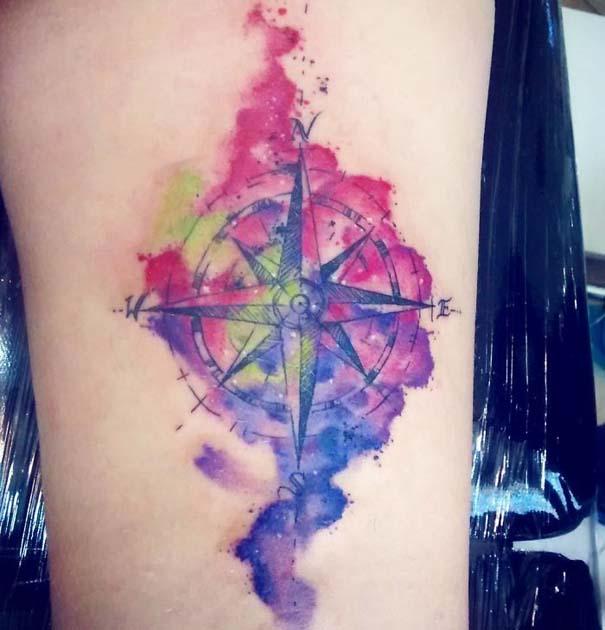 Πανέμορφα τατουάζ για τους λάτρεις των ταξιδιών (5)