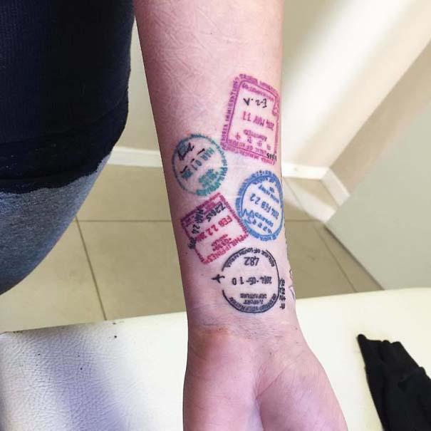 Πανέμορφα τατουάζ για τους λάτρεις των ταξιδιών (6)