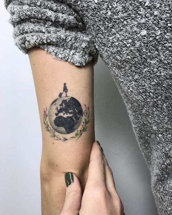 Πανέμορφα τατουάζ για τους λάτρεις των ταξιδιών (8)