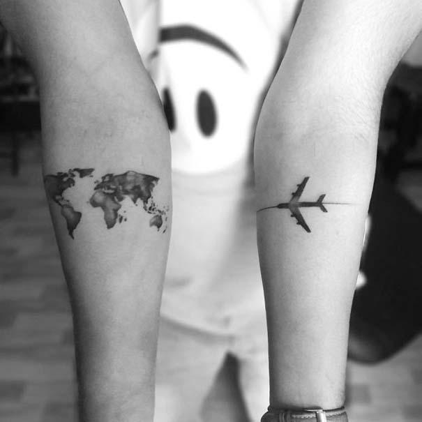 Πανέμορφα τατουάζ για τους λάτρεις των ταξιδιών (9)