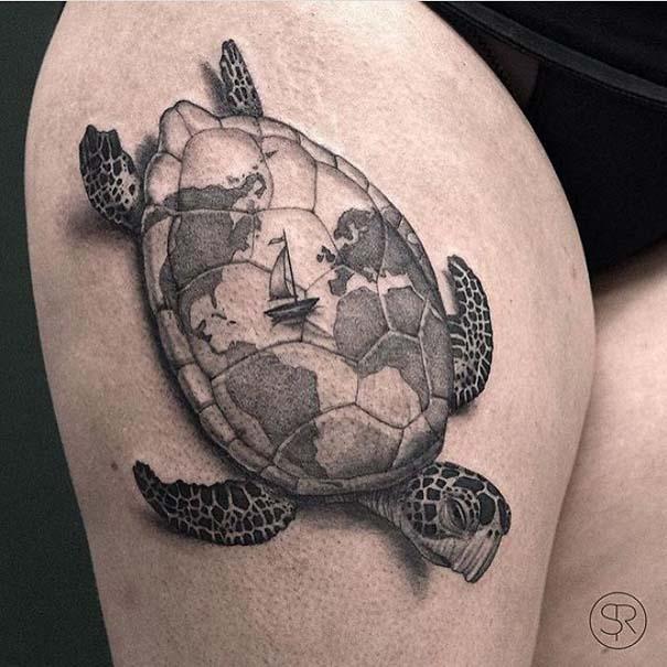 Πανέμορφα τατουάζ για τους λάτρεις των ταξιδιών (11)
