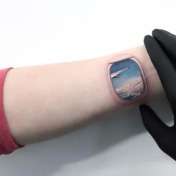 Πανέμορφα τατουάζ για τους λάτρεις των ταξιδιών (12)