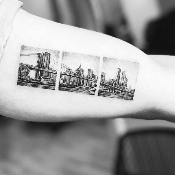 Πανέμορφα τατουάζ για τους λάτρεις των ταξιδιών (15)