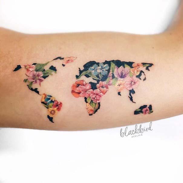 Πανέμορφα τατουάζ για τους λάτρεις των ταξιδιών (17)