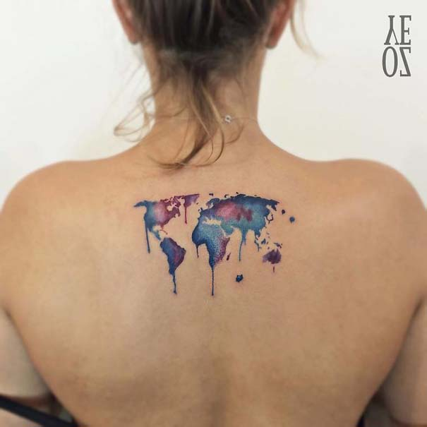 Πανέμορφα τατουάζ για τους λάτρεις των ταξιδιών (26)