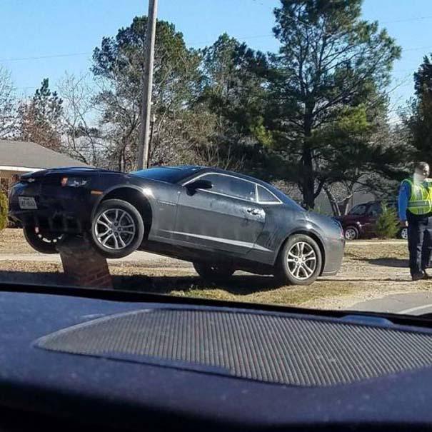 Ασυνήθιστα τροχαία ατυχήματα #43 (2)