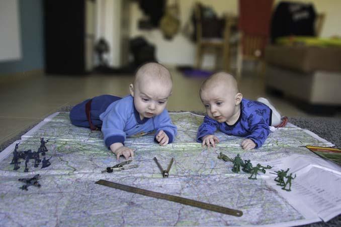 Πατέρας διδύμων δημιουργεί εκπληκτικές φωτογραφίες (2)