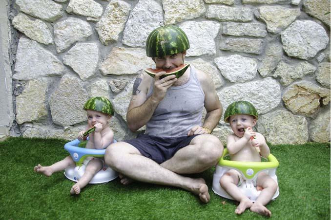 Πατέρας διδύμων δημιουργεί εκπληκτικές φωτογραφίες (5)