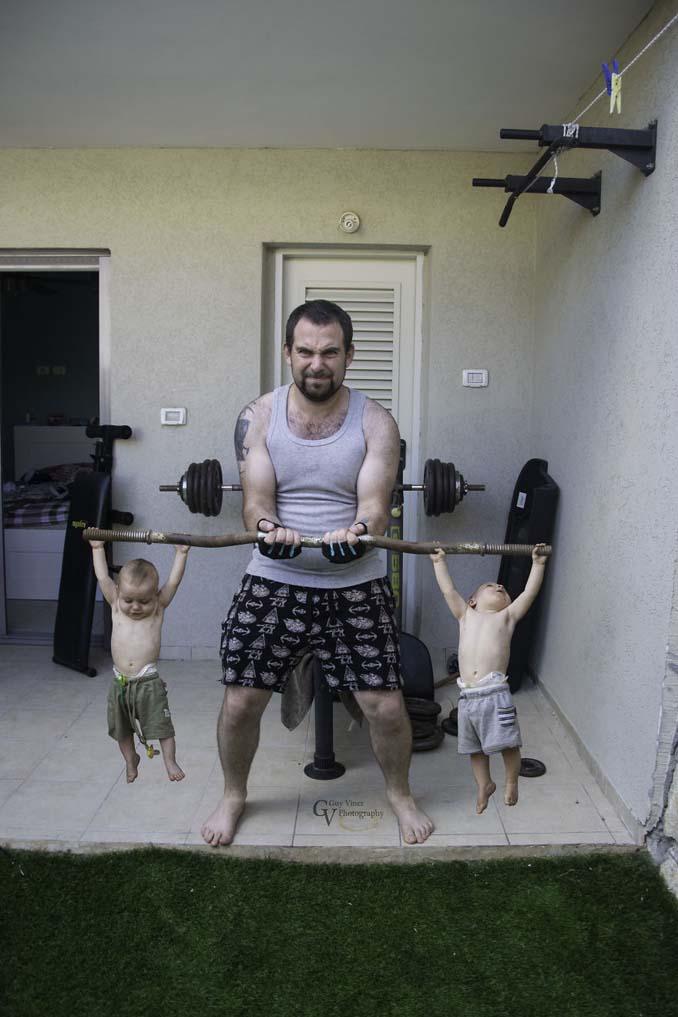 Πατέρας διδύμων δημιουργεί εκπληκτικές φωτογραφίες (17)