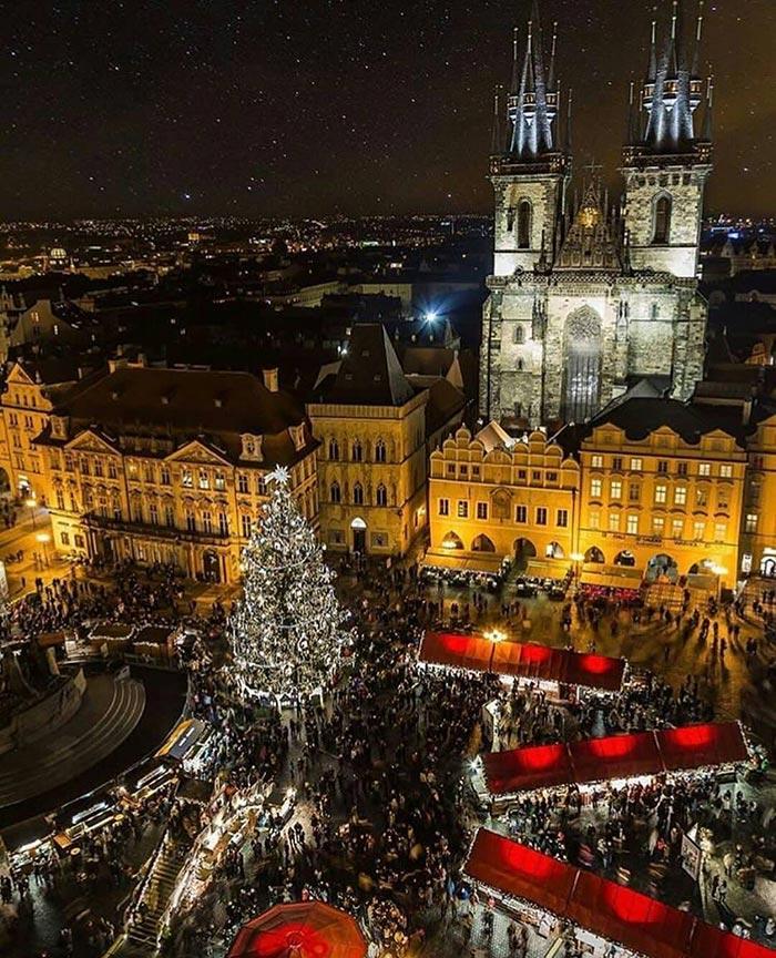 Χριστούγεννα στην Πράγα | Φωτογραφία της ημέρας