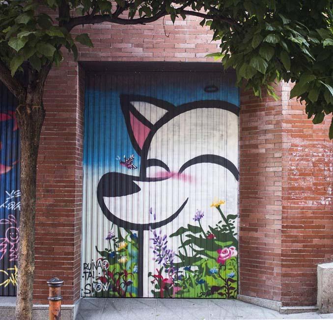 Η εντυπωσιακή Street Art του Dingo Perromudo προσφέρει μια πινελιά πρασίνου στο γκρίζο της πόλης (6)