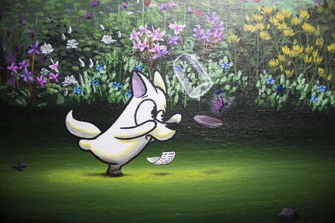 Η εντυπωσιακή Street Art του Dingo Perromudo προσφέρει μια πινελιά πρασίνου στο γκρίζο της πόλης (11)