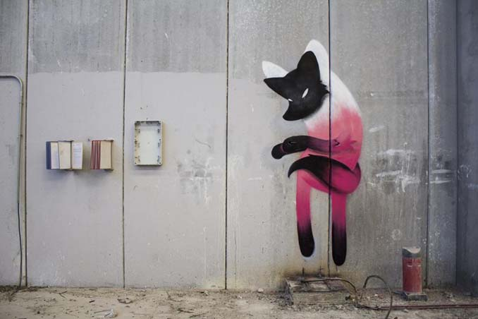 Η εντυπωσιακή Street Art του Dingo Perromudo προσφέρει μια πινελιά πρασίνου στο γκρίζο της πόλης (12)