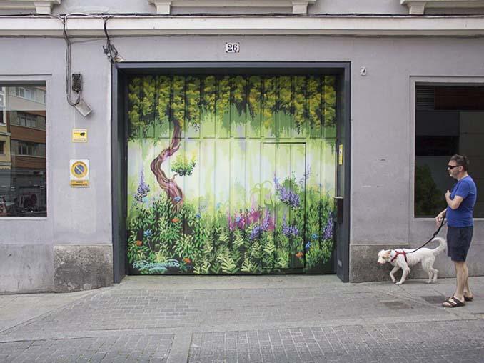 Η εντυπωσιακή Street Art του Dingo Perromudo προσφέρει μια πινελιά πρασίνου στο γκρίζο της πόλης (14)