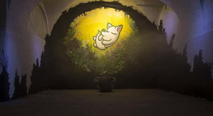 Η εντυπωσιακή Street Art του Dingo Perromudo προσφέρει μια πινελιά πρασίνου στο γκρίζο της πόλης (21)