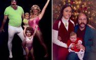 Εδώ και 15 χρόνια, αυτή η οικογένεια στέλνει τις πιο κωμικοτραγικές χριστουγεννιάτικες κάρτες