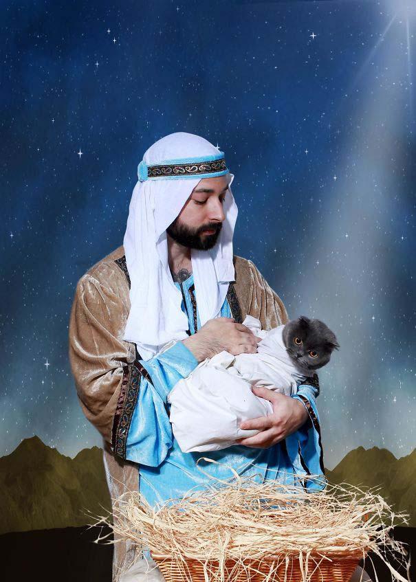 Άνθρωποι πόζαραν για ξεκαρδιστικές χριστουγεννιάτικες κάρτες (2)