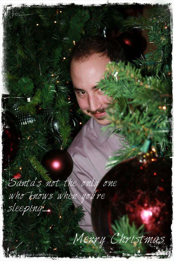 Άνθρωποι πόζαραν για ξεκαρδιστικές χριστουγεννιάτικες κάρτες (3)
