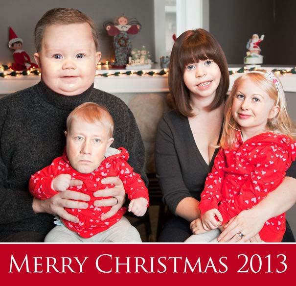 Άνθρωποι πόζαραν για ξεκαρδιστικές χριστουγεννιάτικες κάρτες (6)