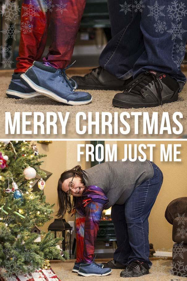 Άνθρωποι πόζαραν για ξεκαρδιστικές χριστουγεννιάτικες κάρτες (9)