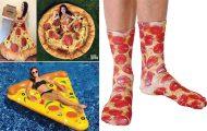 10+1 απίστευτα προϊόντα εμπνευσμένα από την πίτσα