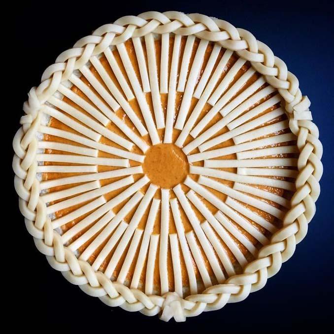 Δημιουργικές πίτες έργα τέχνης από την Lauren Ko (6)