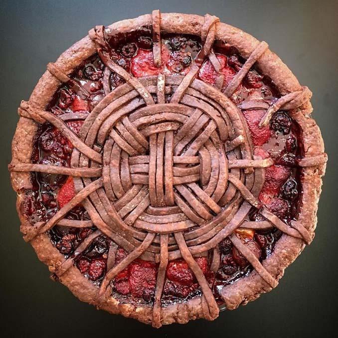 Δημιουργικές πίτες έργα τέχνης από την Lauren Ko (14)