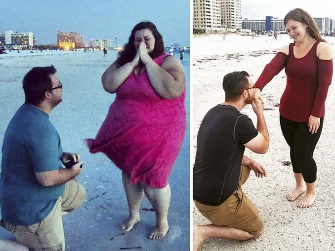 Έχασε 135 κιλά σε 18 μήνες - Οι φωτογραφίες «πριν και μετά» μας άφησαν άφωνους (5)