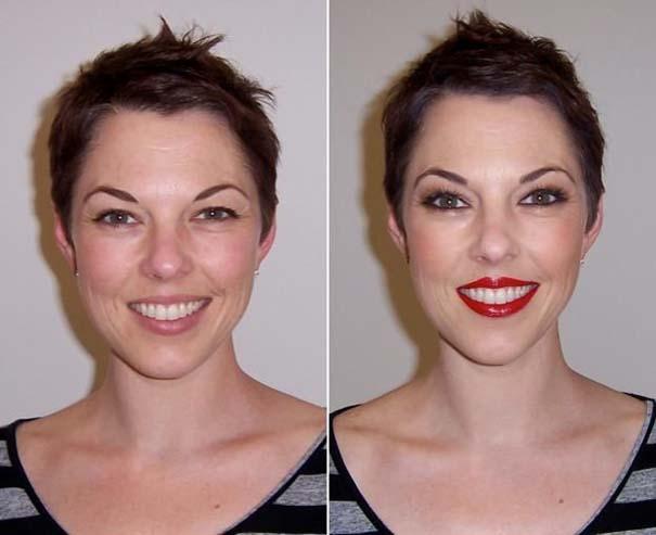 Γυναίκες με / χωρίς μακιγιάζ #25 (4)