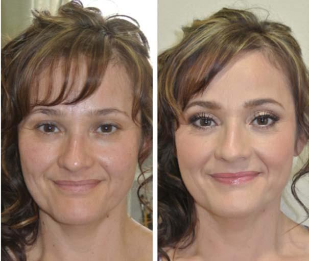 Γυναίκες με / χωρίς μακιγιάζ #25 (5)