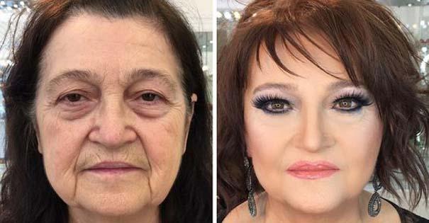 Γυναίκες με / χωρίς μακιγιάζ #25 (6)
