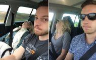 Έφτιαξε συλλογή με φωτογραφίες από τις εκδρομές που πάει τη γυναίκα του και το αποτέλεσμα είναι ξεκαρδιστικό (22)