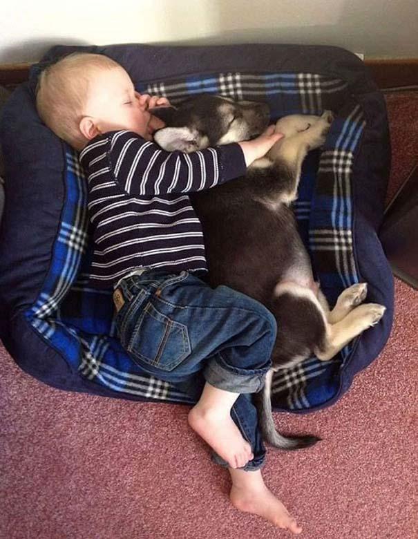 Ο ξεχωριστός δεσμός παιδιών και σκύλων μέσα από φωτογραφίες (6)