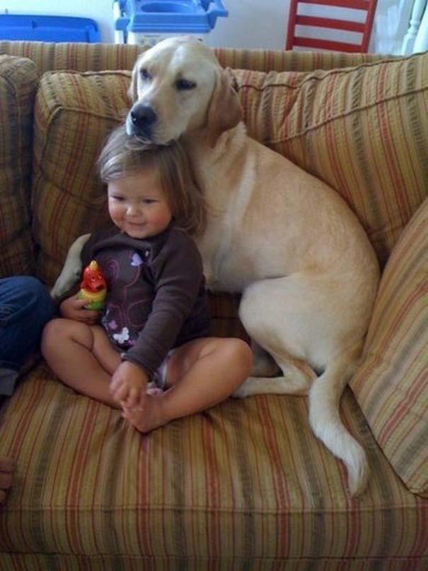 Ο ξεχωριστός δεσμός παιδιών και σκύλων μέσα από φωτογραφίες (10)