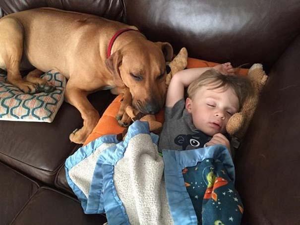Ο ξεχωριστός δεσμός παιδιών και σκύλων μέσα από φωτογραφίες (11)