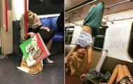 Παράξενες και κωμικοτραγικές φωτογραφίες στα μέσα μεταφοράς #30