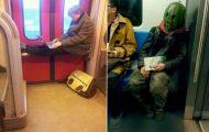 Παράξενες και κωμικοτραγικές φωτογραφίες στα μέσα μεταφοράς #31