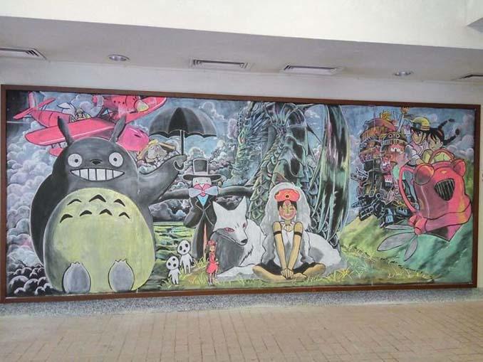 Μαθητές δημιουργούν εκπληκτικά έργα τέχνης στον πίνακα της τάξης τους (2)