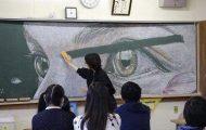Μαθητές δημιουργούν εκπληκτικά έργα τέχνης στον πίνακα της τάξης τους (8)