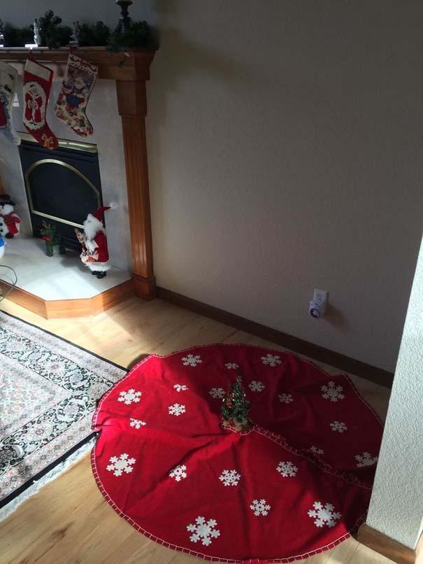 Όταν βαριέσαι να στολίσεις για τα Χριστούγεννα αλλά έχεις μεγάλη φαντασία (4)