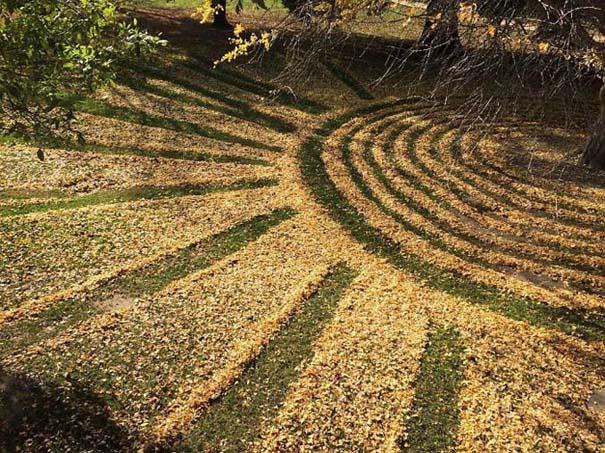 Καλλιτέχνιδα μετατρέπει πεσμένα φύλλα σε εκπληκτικά έργα τέχνης (3)