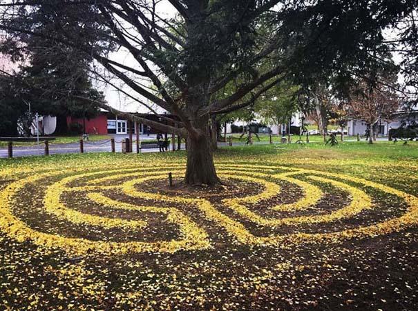 Καλλιτέχνιδα μετατρέπει πεσμένα φύλλα σε εκπληκτικά έργα τέχνης (6)