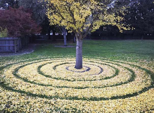 Καλλιτέχνιδα μετατρέπει πεσμένα φύλλα σε εκπληκτικά έργα τέχνης (8)