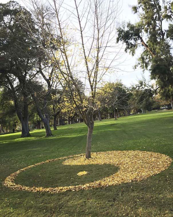 Καλλιτέχνιδα μετατρέπει πεσμένα φύλλα σε εκπληκτικά έργα τέχνης (9)