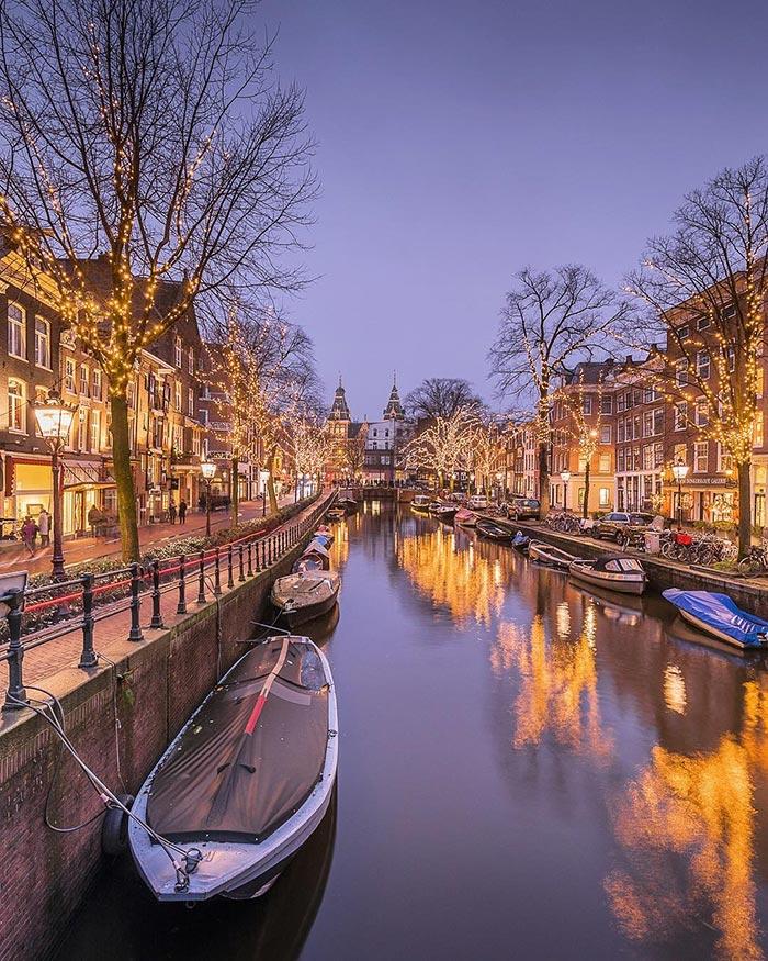 Χριστουγεννιάτικο Άμστερνταμ | Φωτογραφία της ημέρας