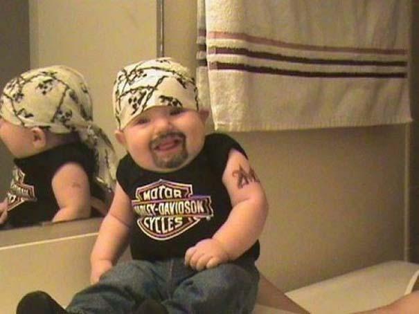 Πιτσιρίκια που προφανώς έμπλεξαν με μπαμπάδες με χιούμορ (14)