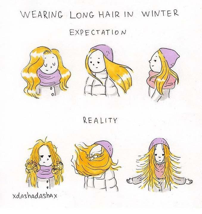 Κλασσικά προβλήματα του Χειμώνα μέσα από χιουμοριστικά σκίτσα (9)
