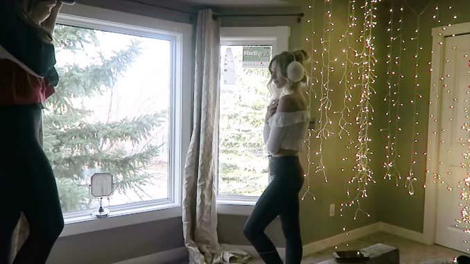 Φωτογράφος αποκαλύπτει πώς να βγάλετε εκπληκτικά πορτραίτα με χριστουγεννιάτικα λαμπάκια στο δωμάτιό σας (2)