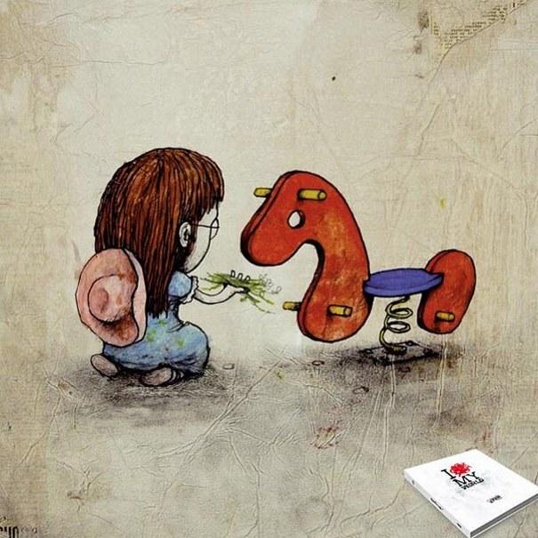 Σατιρικά σκίτσα από τον Γάλλο Banksy που θα σας βάλουν σε σκέψεις (11)