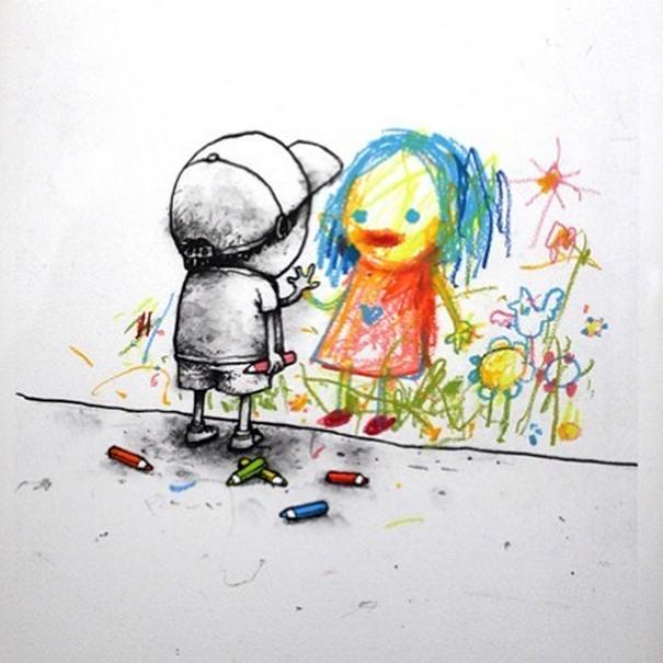 Σατιρικά σκίτσα από τον Γάλλο Banksy που θα σας βάλουν σε σκέψεις (12)